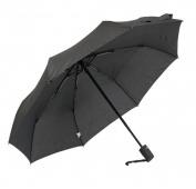 Frankford Umbrellas RM01-BLK Mini Triple fold Umbrella - Black