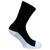 Caresox CSF 0256 Leg Constriction Free Crew Compression Drystat Socks Black - Large