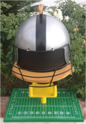 Sports Grills Touch Down 3000 Portable Charcoal BBQ Silver & Black