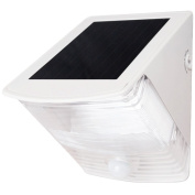 Maxsa Innovations 40234 Solar Powered Motion Activated Wedge Light White