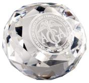 Chass 85224 Diamond Cut Glass Award Paperweight
