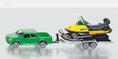 VW Amarok w Trailer & Snow Mobile