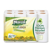 Marcal Paper Mills Inc MRC16466CT Bath Tissue 2-Ply 168 Sheets-Roll 96 Rolls-CT White