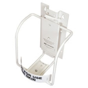 Nice Pak Commercial NICPSBS077900 Sani Bracket for Sani-Cloth Wipes Lg. Canister White