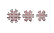 Magma Products No-Skid 3-Piece Pot Protectors Set, Grey
