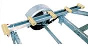 Tie Down 86117 1.2m Roller Bunk - Pair