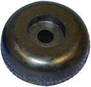 C.H. Yates Rubber 130-4 7.6cm x 2.5cm - 0.6cm Marine End Cap with 1.3cm Shaft