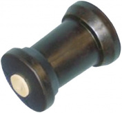 C.H. Yates Rubber 5244-105EC 13cm Super Heavy Duty Marine Keel Roller with 1.6cm Shaft