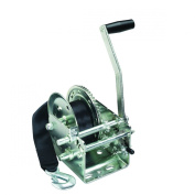 Fulton T2605Z0101 Two-Speed Trailer Winch with Strap - 1180kg. Weight Capacity