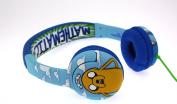 """NEW! Adventure Time """"Mathematical"""" Children's Headphones featuring Jake & Finn"""