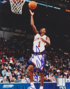 Real Deal Memorabilia ChrisChilds8x10-1 Chris Childs Autographed New York Knicks 8x10 Photo