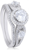 Doma Jewellery MAS02103-6 Sterling Silver Ring with Cubic Zirconia - Size 6