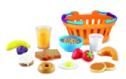 Learning Resources New Sprouts Breakfast Basket Play Food Set