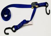 Tie 4 Safe CT02-606-W2F-2P-Blue 2.5cm . x 1.8m Utility Tie Down Strap