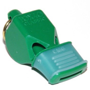 OlympiaSports WH073P Fox Classic Cmg Officials Whistle & Lanyard - Green