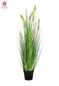 Dekoflower - Artificial Fountain Grass 100 CM, Green