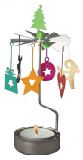 Pluto Colourful Christmas Rotary Candle Holder