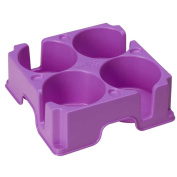 Muggi Purple Multi-Cup Holder or Tray