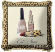 FineArtTapestries 3106-P Cats Meow Pillow