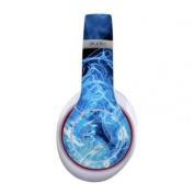 DecalGirl BSTW-QWAVES-BLU Beats Studio Wireless Skin - Blue Quantum Waves