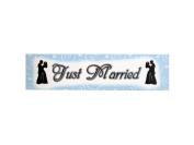 Bulk Buys GW296-72 Wedding Banner