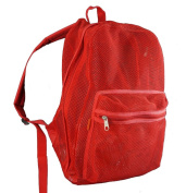 Harvest LM184 Red Mesh Backpack 18 x 36cm x 15cm .