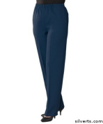 Silverts 230510806 Arthritis Adaptive Pants With Fasteners - 2 Extra Large Navy