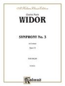 Alfred 00-K04031 WIDOR SYMPHONY NO. 3 ORGAN