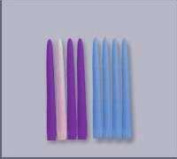 Emkay Candles 181151 Candle-Advent Refill Candles Purple 30cm .