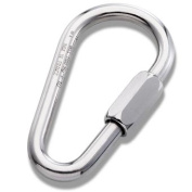 Steel Pear Quick Link Plated 12 mm.