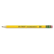 Dixon Ticonderoga Co. 33312 My First Ticonderoga Woodcase Pencil HB #2 Yellow Barrel 1 Dozen