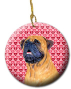 Carolines Treasures SS4520CO1 7.1cm x 7.1cm . Mastiff Ceramic Ornament