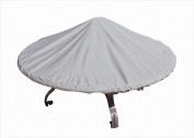 SimplyShade 110cm - 150cm . Round Chat & amp; Fire Pits Grey