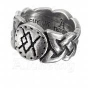 Alchemy Metal-Wear R195Q Viking Virility Runering Ring Q - 8.5