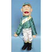 Sunny Toys GS2817 70cm . Jockey Sculpted Face Puppet