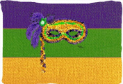 Carolines Treasures 8384PILLOWCASE 50cm x 80cm . Mardi Gras Moisture Wicking Fabric Standard Pillowcase