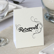 Hortense b Hewitt 35079 Reserved Table Tents - QTY 10