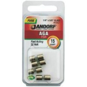 Jandorf Specialty Hardw Fuse Aga 15A Fast Acting 60621