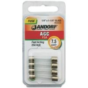 Jandorf Specialty Hardw Fuse Agc 7.5A Fast Acting 60635