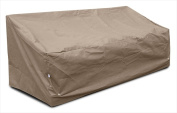 KoverRoos 39355 KoverRoos III Deep Large Sofa Cover Taupe - 87 W x 40 D x 31 H in.