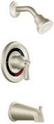 Cleveland Faucet Group 140513 Capstone Tub & Shower Trim Brushed Nickel 1.75 Gpm