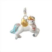 Handmade Porcelain [Unicorn] Clip On Charm