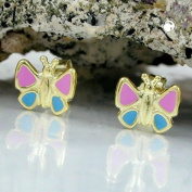 Male 9 ct GOLD Butterfly