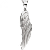 JOBO Pendant Wings Angel Wings 925 Sterling Silver Partially Matted