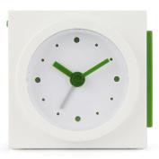 Lexon Maizy LR125W Alarm Clock Analogue Display Corn Starch White