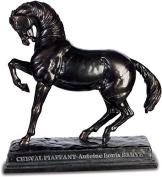 Horse Statue piaffant of Barye - 15 cm