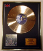 IRON MAIDEN/Cd Gold Disc Record Limited Edition/SOMEWHERE IN TIME