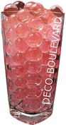 20 bags of one colour water pearls * RED * (MINI 0.8 - 1.2 cm) from Deco-Boulevard.de - Ideal decoration for any occasion! Decoration for flowers, candles, tea lights. Can be used as Eventdeco, party decorations, weddings and events. Also known as wate ..