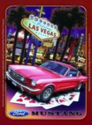 Tin Sign Ford Mustang Sign Tin Signs 8 x 11 cm Las Vegas Sign Signs 201/439