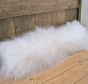 Luxury Real Sheepskin Draught Excluder